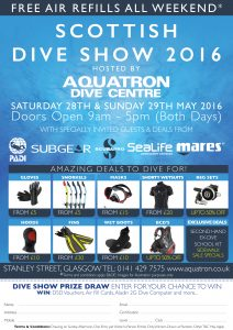 Aquatron A4 Dive Show Advert 2016 with entry
